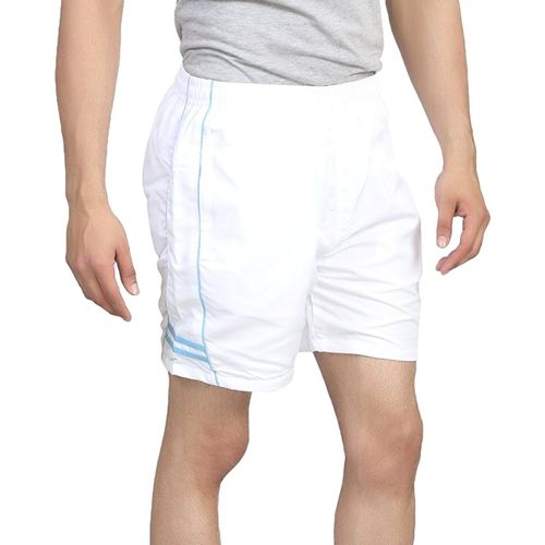 TRINITY JEANS COMPANY Solid Men White Sports Shorts
