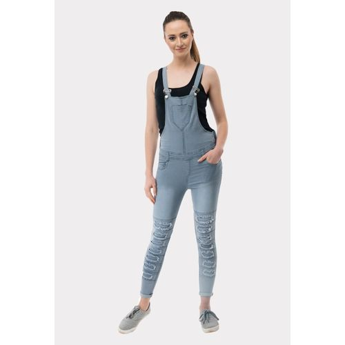 AAKRITHI Solid Women Jumpsuit