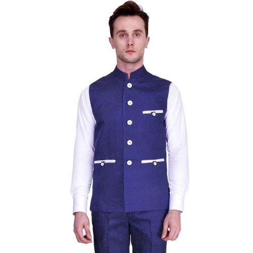 Protext Solid Men Waistcoat
