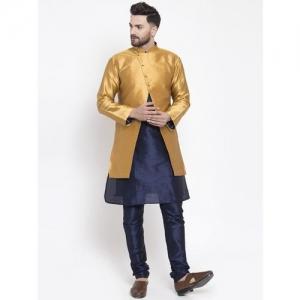 ABH Lifestyle Men Kurta, Ethnic Jacket and Pyjama Set
