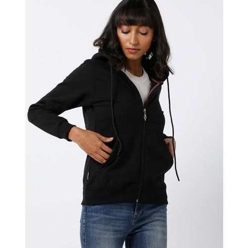 Fort Collins Zip-Front Hoodie with Split-Kangaroo Pockets
