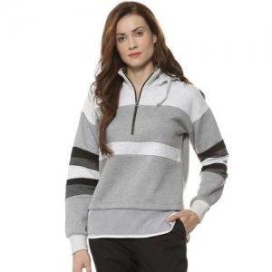 Campus Sutra Solid Sweatshirt