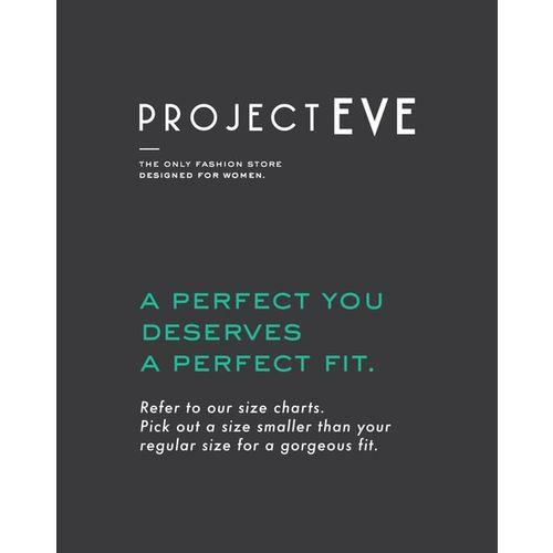 Project Eve WW Casual Velvet Crew-Neck Sweatshirt with Ribbed Hems