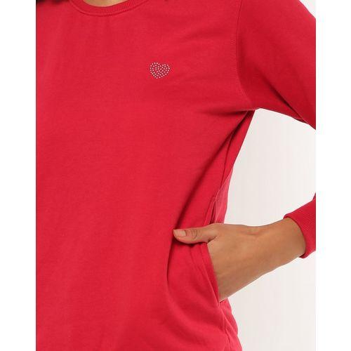 Fort Collins Round-Neck Sweatshirt with Insert Pockets