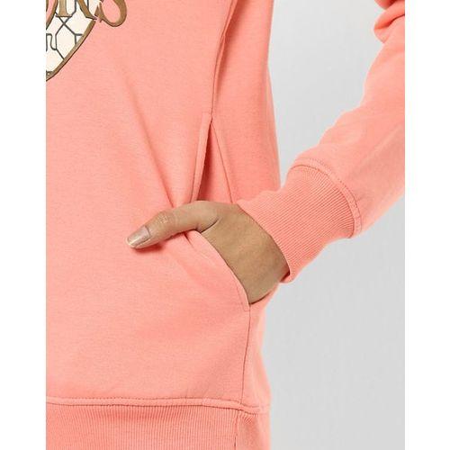 Fort Collins Graphic Print Crew-Neck Sweatshirt with Slip Pockets