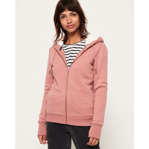 SUPERDRY Hoodie with Front Zipper
