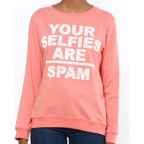 DNMX Typographic Print Crew-Neck Sweatshirt