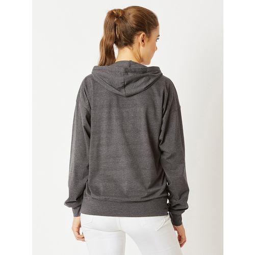 MISS CHASE Textured Sweatshirt