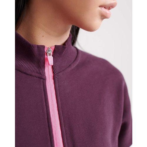 SUPERDRY Sport City Colourblock Sweatshirt with Typography