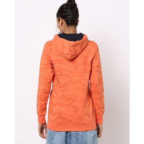 DUKE WOMEN'S Graphic Print Hooded Sweatshirt