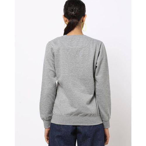 Fort Collins Graphic Print Crew-Neck Sweatshirt