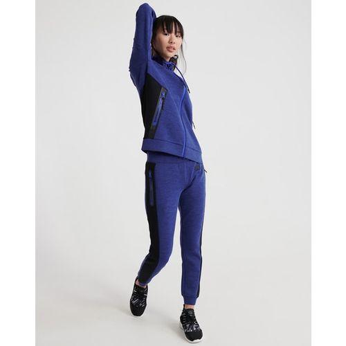 SUPERDRY Sports Core Gym Tech Zip-Front Hooded Sweatshirt
