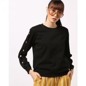 MADAME Sweatshirt with Overlap Sleeves