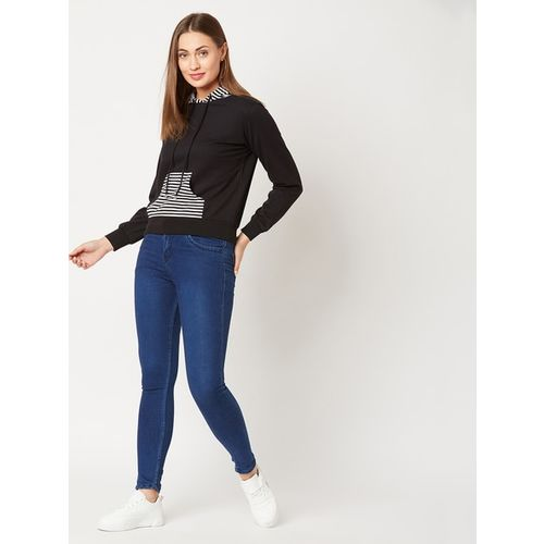 MISS CHASE Striped Sweatshirt