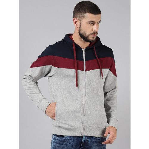 Rodid Full Sleeve Colorblock Men Sweatshirt