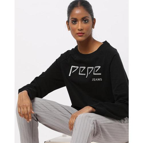 Pepe Jeans Crew-Neck Sweatshirt with Raglan Sleeves