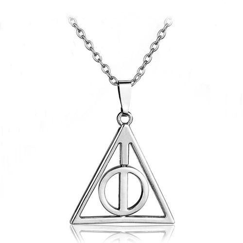 Yellow Chimes Famous Harry Potter Deathly Hallows Metal