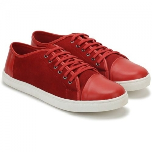 United Colors of Benetton Sneakers For Men(Red)