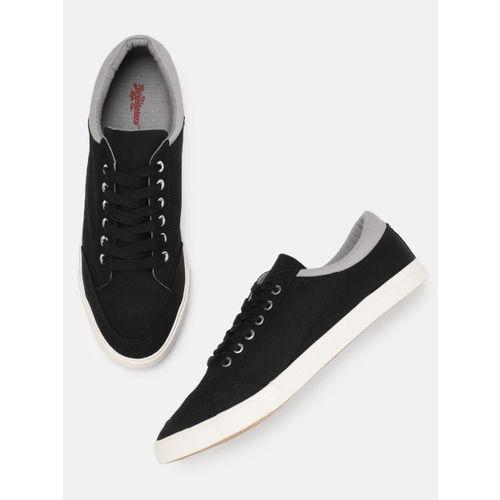 Roadster Men Black Sneakers
