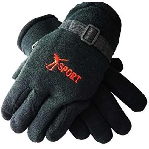 YOUNGMONK Solid Winter Men & Women Gloves