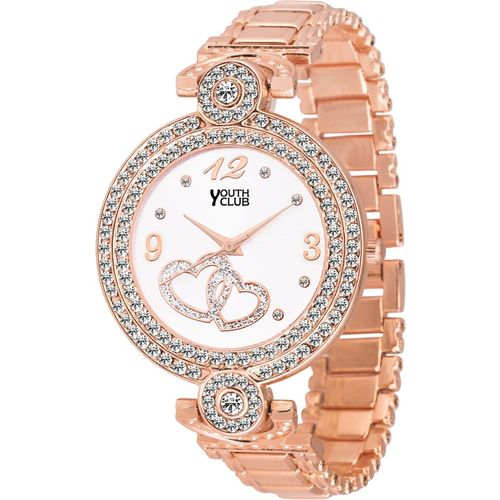 Youth Club CH-LVECPR New Rose Gold  Analog Watch
