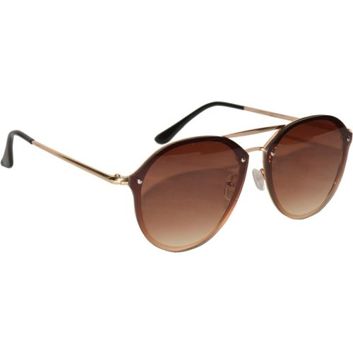 Peter Jones Aviator Sunglasses(Brown)