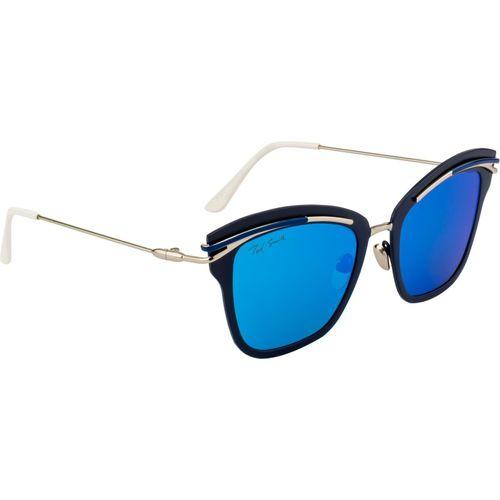 Ted Smith Wayfarer Sunglasses(Brown, Blue)