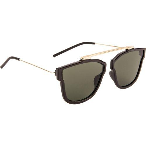 Mary Jane Retro Square Sunglasses(Green)