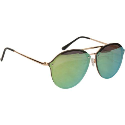 Peter Jones Aviator Sunglasses(Green)