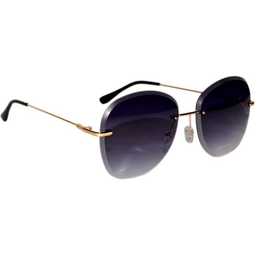 Peter Jones Aviator Sunglasses(Black)