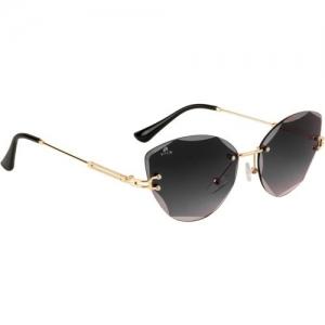 Aislin Cat-eye Sunglasses(Black)