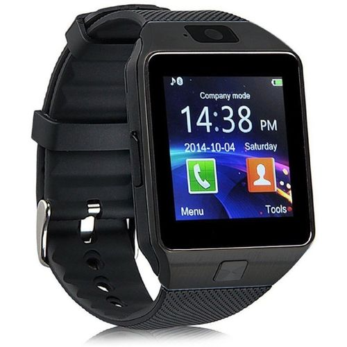 SYL Intex Aqua i2+ Smartwatch(Black Strap Regular)