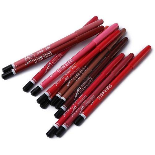 Jeval Super Matte Lipliner Pencil Make Up(multi)