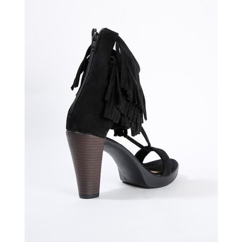 CATWALK Heeled Sandals with Fringes