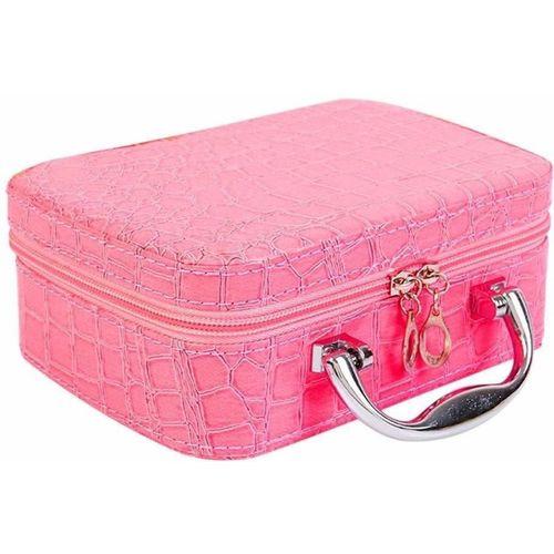 romino Travel Cosmetic makeup box for ladies makeup, jewellery Vanity Box(Multicolor)