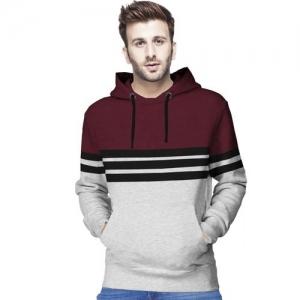 Tripr Full Sleeve Color Block Men Sweatshirt