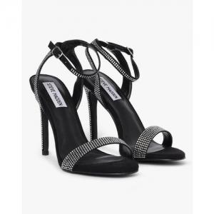STEVE MADDEN Landen Embellished Stilettos with Ankle Strap
