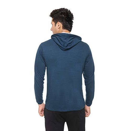 DFH Full Sleeves Hooded T-Shirt
