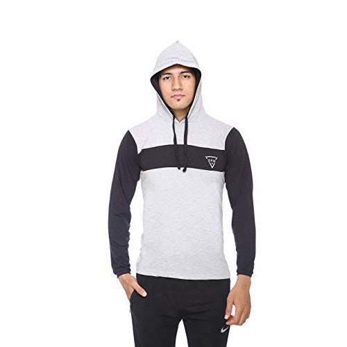 DFH Full Sleeves Hooded T-Shirt