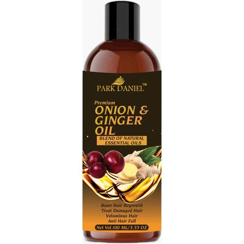 Park Daniel Premium Onion & Ginger oil(Blend of Natural Essential oil) Hair Oil(100 ml)