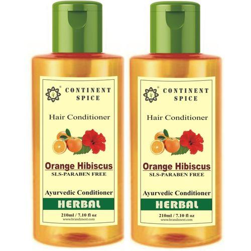 Continent Spice ORANGE HIBISCUS hair conditioner SLS & PARABEN(420 ml)