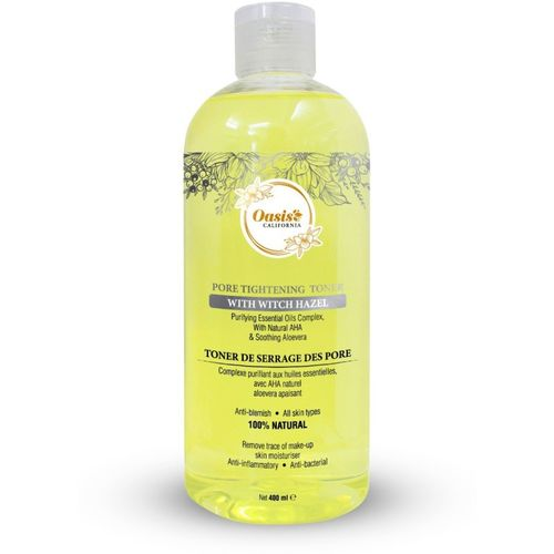 Oasis CALIFORNIA Pore Tightening Toner With Witch Hazel(400 ml)