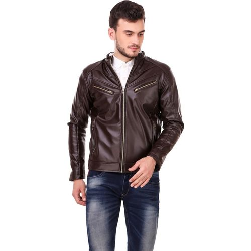 Christy World Full Sleeve Solid Men Jacket