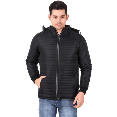 KLAXXY Full Sleeve Solid Men Jacket