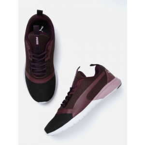 Puma Women Purple & Black Vigor Prime Idp Running Shoes