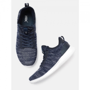 HRX by Hrithik Roshan Navy Blue Women Wire Knit Running shoe