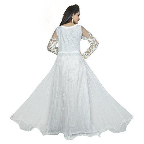 Jash Creation Women's Net Anarkali Gown