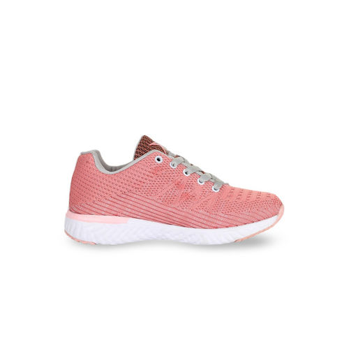 REFOAM Women Pink Mesh Flyknit Running Shoes