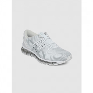 ASICS Women White GEL-QUANTUM 360 4 Running Shoes