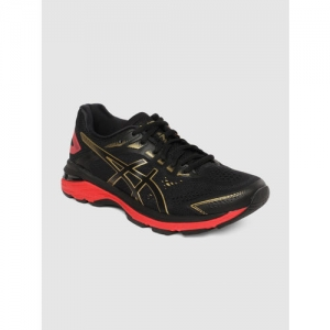 ASICS Women Black GEL-NIMBUS 21 MUGEN Running Shoes